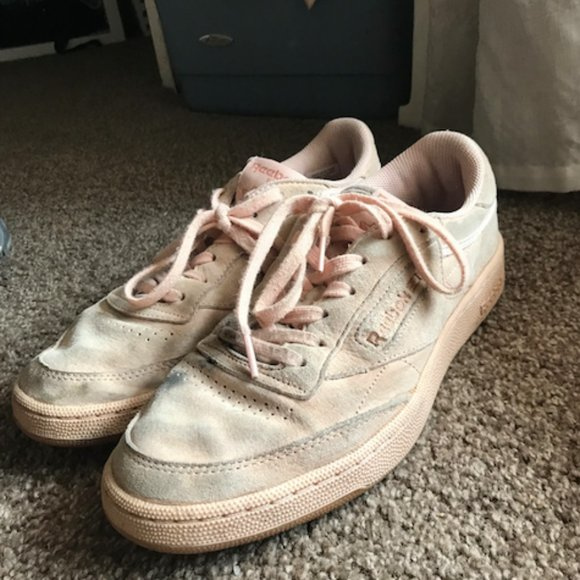 European Reebok Light Pink Sneaker